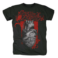BULLET FOR MY VALENTINE - HEART NOOSE - OFFICIAL MENS T SHIRT
