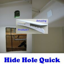 Drywall Repair Plate to Hide Hole in Sheetrock Wall and Ceiling (large)