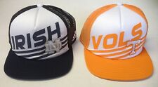 NCAA Assorted Teams Adidas Flat Brim Snapback Meshback Trucker Cap Hat OSFA NEW!
