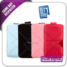 Pull Up Mobile Phone Case Cover Pouch For SONY Xperia U, Buy 1 Get 1 Free