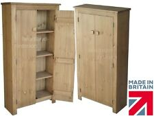Solid Pine Cupboard 1450mm x 750mm Handcrafted & Waxed 2 Door Storage Cabinet