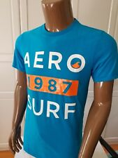 NWT Aero Aeropostale Short Sleeve Aero 1987 Surf Graphic Tee T Shirt