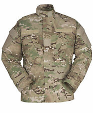 GI ARMY FLAME RESISTANT COMBAT UNIFORM COAT PROPPER MILITARY CAMO JACKET- F5468