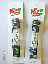Boy Girl Brown Camouflage Army Elasticated Grey Stretchy Snake Belt Childrens