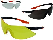 Zodiac Sports Style Safety Glasses - Various Colours