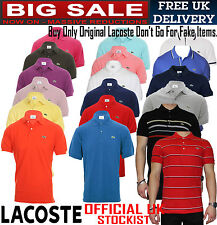 Collection Of Lacoste Classic Polo Shirt For Men's (100% Authentic)T-Shirt/Shirt