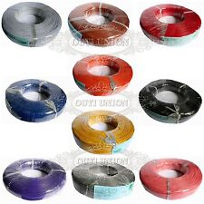 50M 1-pin Wire 18AWG 20AWG 22AWG 24AWG 26AWG 28AWG Cable UL-1007 Hook-up Strip