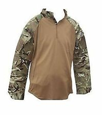 MTP CAMOUFLAGE UNDER BODY ARMOUR COMBAT SHIRT -BROWN UBAC- BRAND NEW MULTICAM