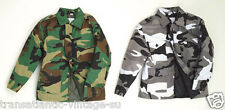KIDS CAMO COMBAT JACKET CHILDRENS ARMY CLOTHING  UNIFORM CADET CAMOUFLAGE