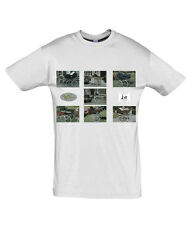 T Shirt With Vintage Wilson Silver Cross Coach Built Pram Photographs On - NEW