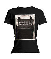 YOU ME AT SIX - SINNERS NEVER SLEEP - OFFICIAL WOMENS T SHIRT