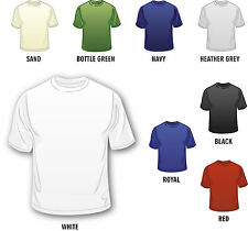 Personalized Custom Made Printed Men's (Design Your Own) T-Shirts