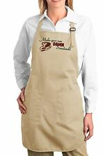"""MAKE YOUR OWN DAMN SANDWICH"" APRON COOK CHEF MOM FUNNY HUMOR KITCHEN"
