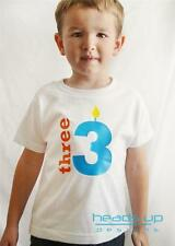 Birthday Shirt 1, 2, 3, 4, 5 Boy Girl Toddler Baby Kid Child Tee Shirt T Shirt