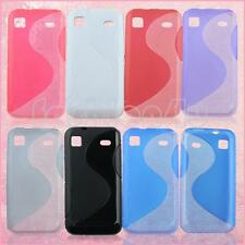 for samsung galaxy s i9000 i9001 i9003 soft gel back protective skin cover case