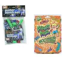 Water Bomb Set with Catapult, 30 balloons, Filler & Bag! Or/and500Pk Bombs Toy