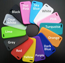New Silicone Case Cover For Apple iPod Touch 4, BB Curve 9300, iPhone 4, 4S & 5