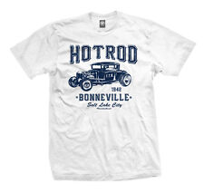 T-Shirt - Hot Rod Bonneville weiß - Mopar Muscle Car Dodge Charger Mustang Ford