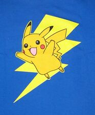 Pokemon Pikachu Lightning Character GRID T-Shirt Officially Licensed Merchandise