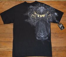 Tapout REBELED Foil Letters 2-Sided Graphic T-Shirt MMA FIGHT CLUB Tee