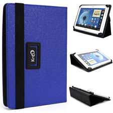 "New! 10"" Kroo BD Universal Adjustable Folio Stand Cover for Tablets & E-Readers"