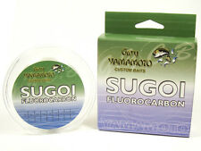 YAMAMOTO SUGOI FLUOROCARBON FISHING LINE 131 YARDS (120 M) GRAY select lb. test