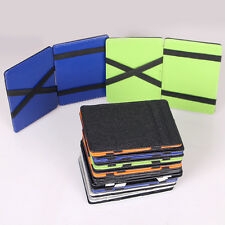 Ultra Thin Leather Magic Wallet Credit Card ID Holder Money Clip PU Leather