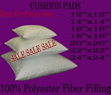 "CUSHION INNER PADS INSERTS FILLERS SCATTERS 16"" 18"" 20""22"" 24''"