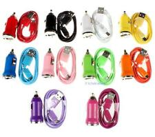 Car Charger+Micro USB Cable for Samsung Galaxy S4 i9500 S3 S III i747 Phone KJ