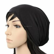 F1005 NEW UNISEX BEANIE KNIT HAT WOMENS MENS CAP SPRING SUMMER COTTON BLACK GRAY