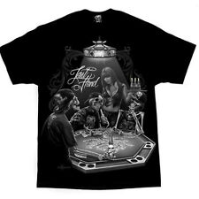 AUTHENTIC DGA DAVID GONZALES LAST HAND POKER GAME ZOMBIE GANGSTER TATTOO T SHIRT