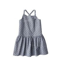 From Oshkosh Girl's Ballerina style Polka-dot dress Adorable! size18m 2 3 4 5