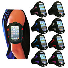 8 COLOUR SPORT RUNNING GYM ARMBAND PHONE HOLDER  FOR SAMSUNG GALAXY ACE 2 I8160