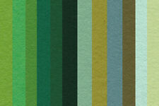 """WOOL MIX FELT SQUARES  (2x  GREEN), approx 9"""" x 9"""", 30% WOOL 70% SYNTHETIC"""