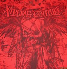 "Xtreme Couture by Affliction 2-Sided T-Shirt ""JUSTICE RED""  MMA, Fight Club,"
