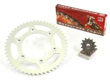 HONDA CRF250 2004-2013 DC AFAM GOLD CHAIN AND STEEL SPROCKET KIT CRF 250 R