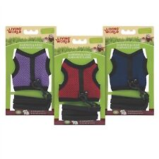 Hagen Living World Ferret, Rat Fabric Mesh Harness/Lead Set Medium 60866