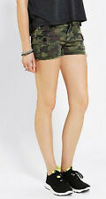 Tripp NYC Green Camo Camoflauge Shorts Hot Pants Alternative Punk Rock