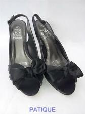 Ladies High Heel Sexy Evening Wear Shoes Black Velvet -Samoan (girls womens)