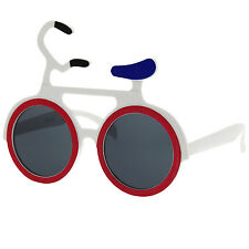 Bike Bicycle Sunglasses Shades Sunnies Mountain Cycle Pedal Costume Party Fun