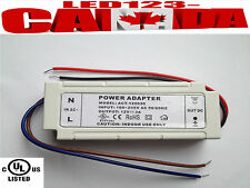 INLINE HARDWIRE DRIVER 12V 3AMP DC POWER SUPPLY UL/cUL/CE/CSA LISTED WHOLESALE