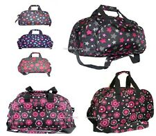 """LARGE WEEKEND OVERNIGHT BAG GYM TRAVEL CABIN FLIGHT HOLDALL HAND LUGGAGE 20L 17"""""""