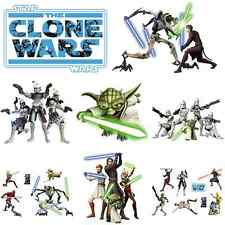 WANDTATTOO STAR WARS THE CLONE WARS Wandaufkleber Kinderzimmer Yoda Troopers Obi