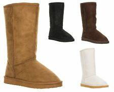 New Qupid Women's Fashion Mid Calf Faux Shearling Boot Snow Winter sz OAKLEY-01A