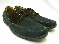Mens Clarks Nubuck Leather Shoes, Latch Bay. SALE