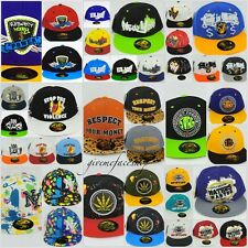 Time is money snapback caps, flat peaks, hiphop fitted baseball hats unisex dope