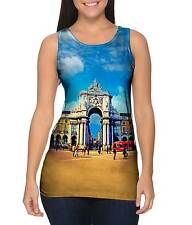 Yizzam- Praca Do Comercio - New Ladies Women Tank XS S M L XL 2XL 3XL 4XL