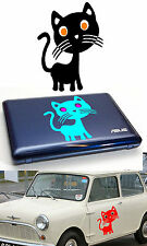 Sticker vinyl cut CAT (KITTEN). outdoor   10 years. SELECT SIZE & COLOUR. Gato
