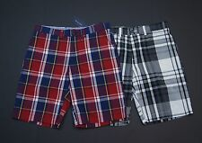TOMMY HILFIGER Men Plaid Light-Weight Casual Shorts NEW NWT $69.50
