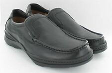 Mens Clarks Formal Slip On Shoes 'Line Guide' in a Extra Wide Fitting